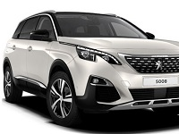 Peugeot-5008-2018 Compatible Tyre Sizes and Rim Packages