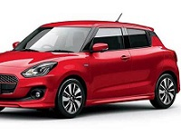 Suzuki-Swift-2019 Compatible Tyre Sizes and Rim Packages