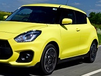 Suzuki-SwiftSports-2019 Compatible Tyre Sizes and Rim Packages