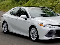 Toyota-Camry-2018 Compatible Tyre Sizes and Rim Packages