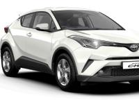 Toyota-CHR-2017 Compatible Tyre Sizes and Rim Packages