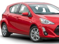 Toyota-PriusC-2016 Compatible Tyre Sizes and Rim Packages