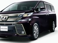 Toyota-Vellfire-2017 Compatible Tyre Sizes and Rim Packages