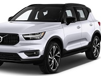 Volvo-XC40-2019 Compatible Tyre Sizes and Rim Packages